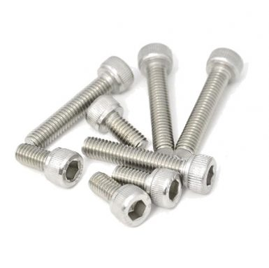 A2 paslanmaz çelik 304 altıgen soket cıvata
