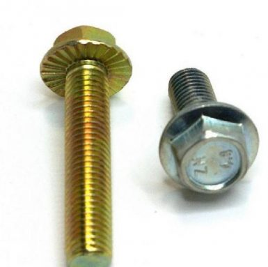 DIN 6921 altıgen flanş cıvatası 8.8 kalite çinko kaplama