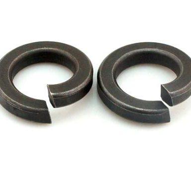 Siyah oksit düz yaylı rondela DIN127 DIN128