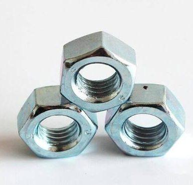 A563 Gr A galvanizli altıgen somun DIN934